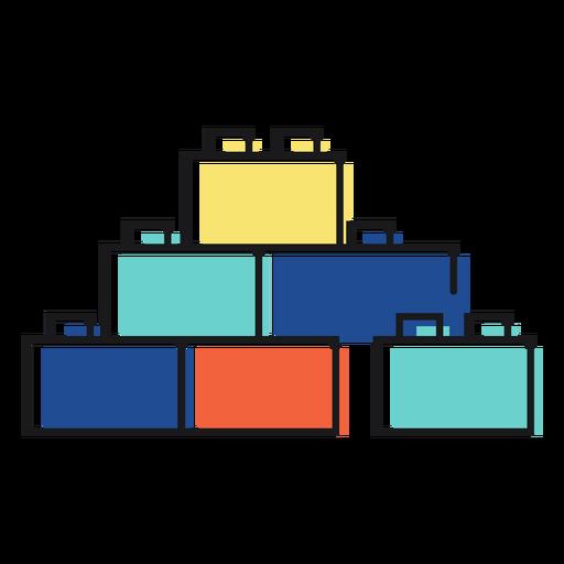 Icono de juguete lego