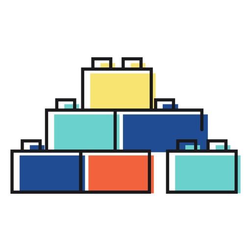 Toy icon lego Transparent PNG
