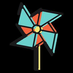 Molinete de icono de juguete