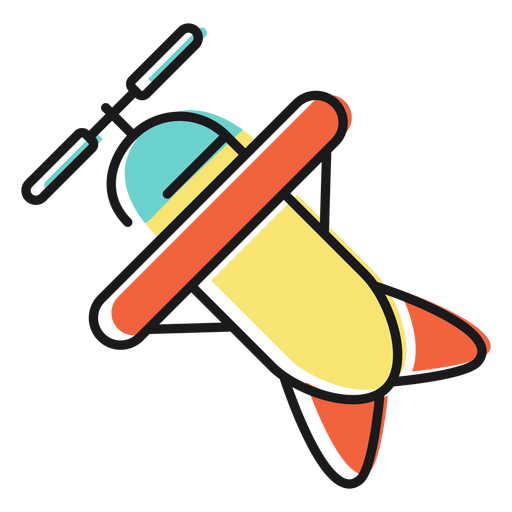 Toy icon plane Transparent PNG