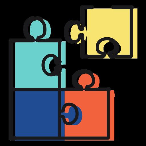 Spielzeug-Symbol-Puzzle
