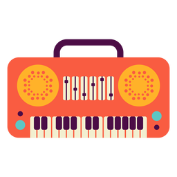 Toy piano flat