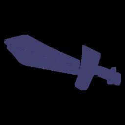 Vetor de espada de brinquedo