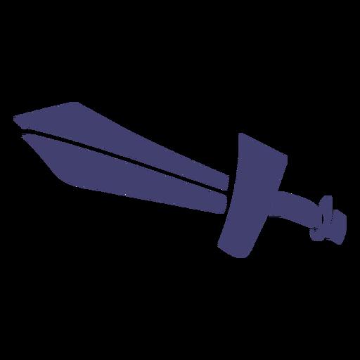 Toy sword vector