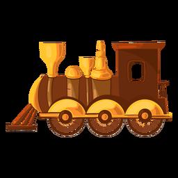 Ilustração de trem de brinquedo