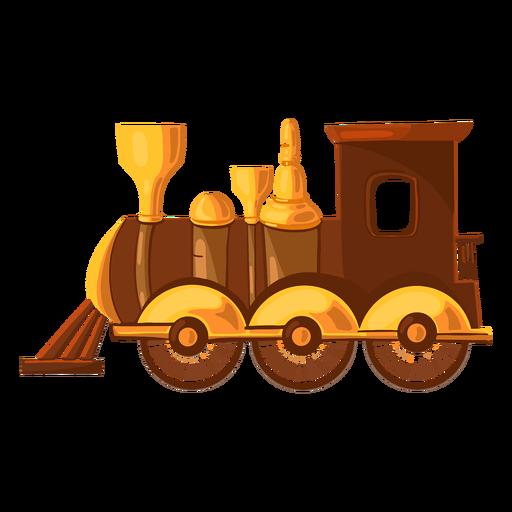 Ilustración de tren de juguete