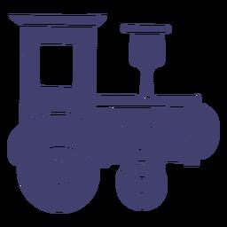 Vetor de trem de brinquedo