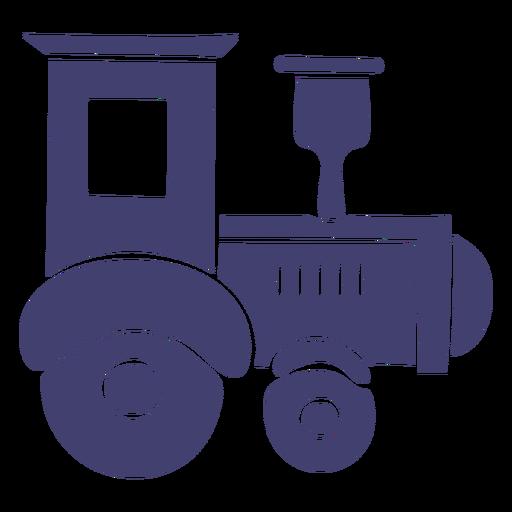 Toy train vector