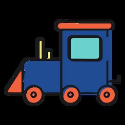 Brinquedo de ícone de trem