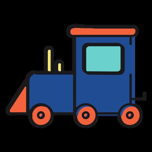 Train icon toy