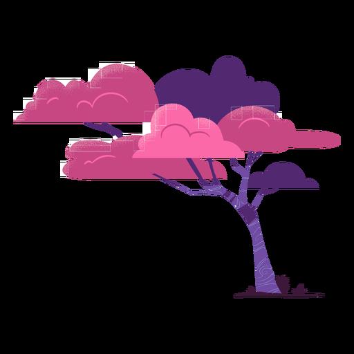 Tree safari colorful Transparent PNG