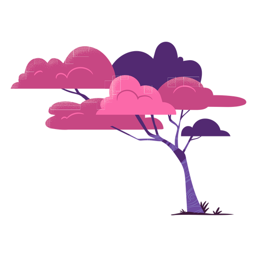 Tree safari colorful