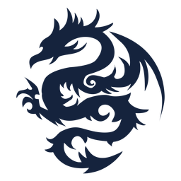Projeto tribal do dragão