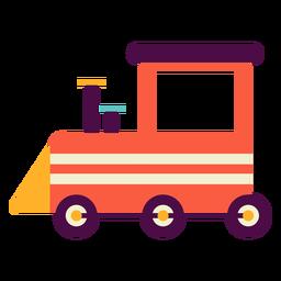Camión de juguete plano