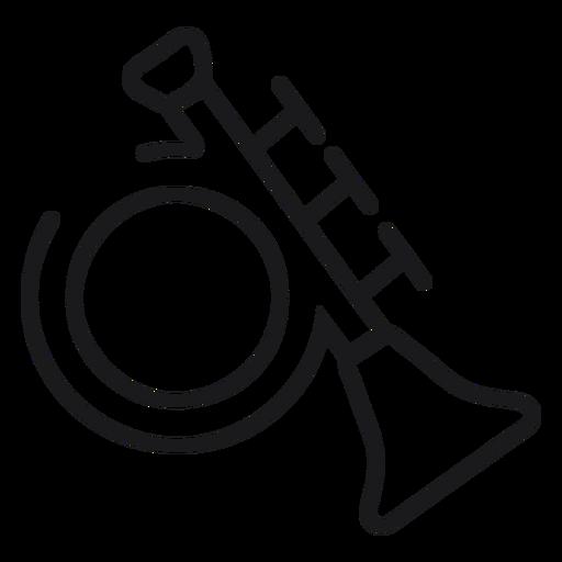 Ícone de brinquedo trompete Transparent PNG