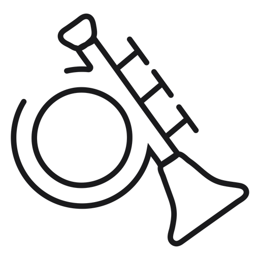 Trumpet toy icon Transparent PNG