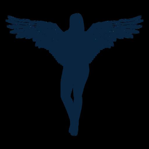 Vector angel pose
