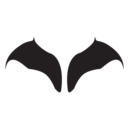 Vector bat wings Transparent PNG