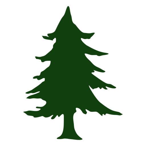 Vector christmas tree Transparent PNG