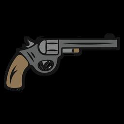 Arma de vaqueiro vintage