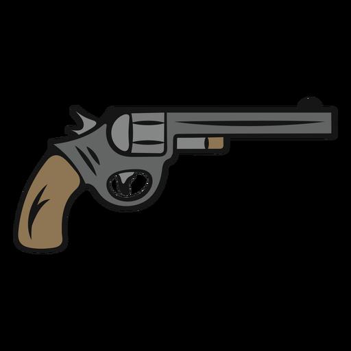 Pistola de vaquero vintage Transparent PNG