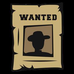 Wanted cowboy vintage