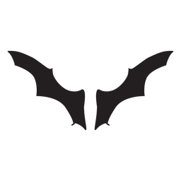 Wide bat wings