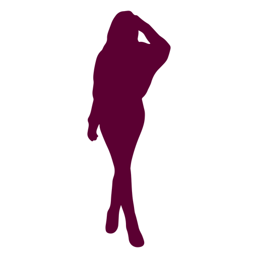 Woman pose silhouette Transparent PNG
