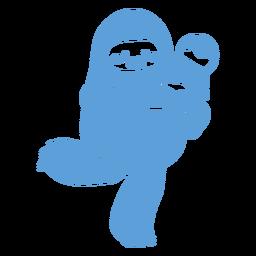 Yeti Eis glücklich