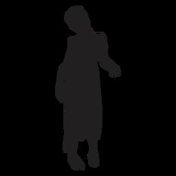 Zombie pose silhouette