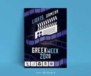 Diseño de carteles de eventos cinematográficos