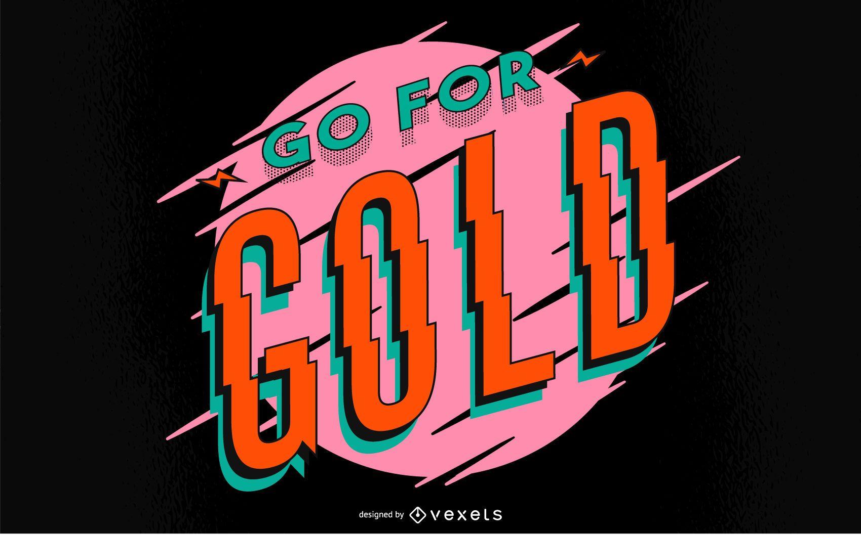 90s Style Sports Quote Design