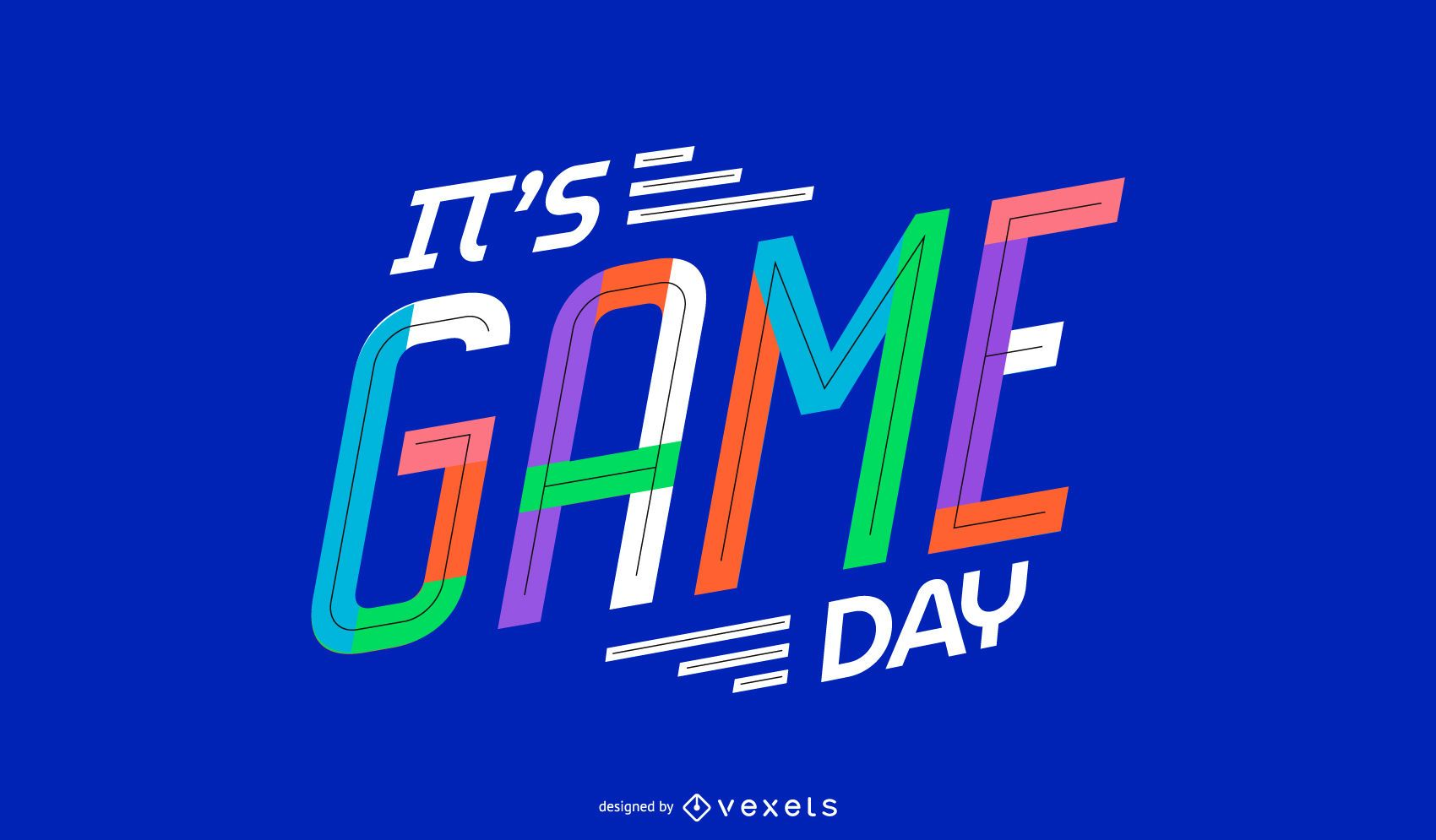 Game Day Quote Design