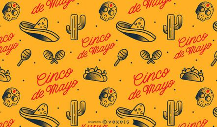 Cinco de mayo mexican pattern