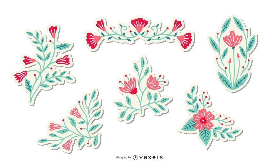 Spring Flowers Sticker Pack