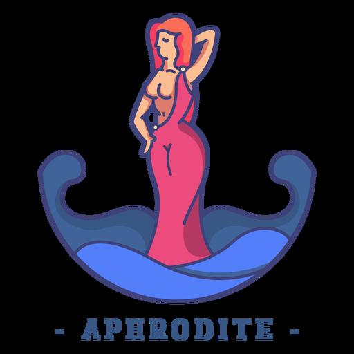 Aphrodite greek god character Transparent PNG