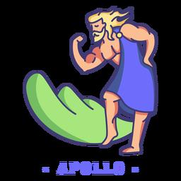 Deus grego apolo