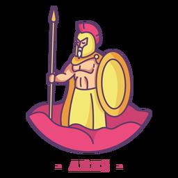 Ares dios griego personaje