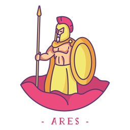 Ares greek god character