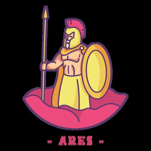 Personagem de deus grego de Ares Transparent PNG