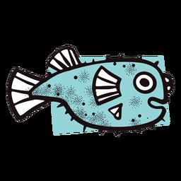 Curso de peixe azul