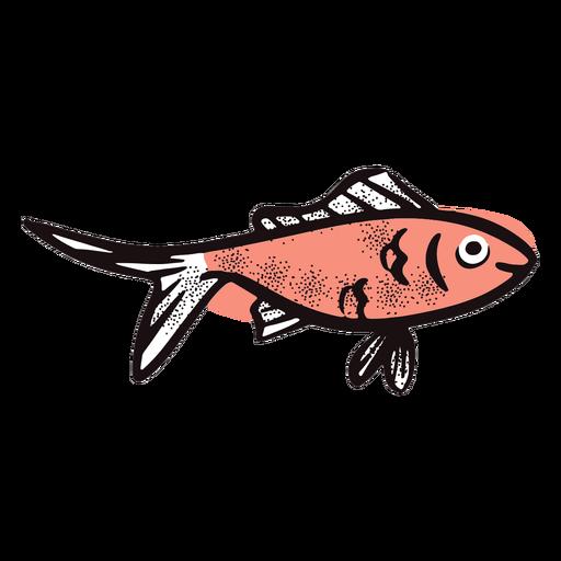 Peixe de desenho animado sorrindo Transparent PNG