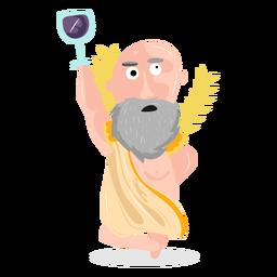 Character god dionysus