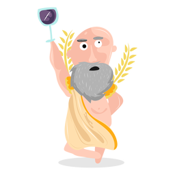 Personagem deus dionísio