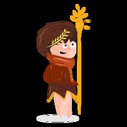 Carácter dios griego