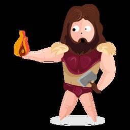 Character god hephaestus