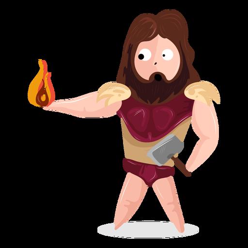 Personagem deus Hefesto Transparent PNG