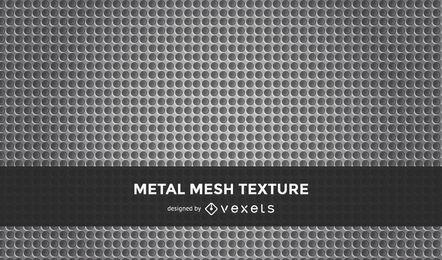 Nahtloser Vektor-perforiertes Metallmuster