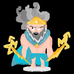 Character god zeus
