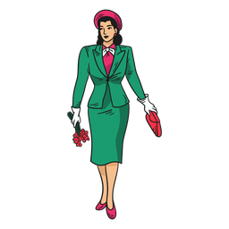 Senhora personagem